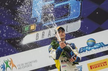 F3 Brasil: No molhado, Iorio se recupera e abre vantagem na liderança