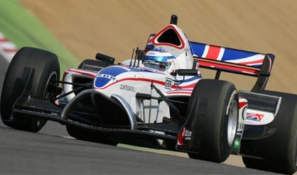 A1GP: Inglaterra conquista a pole-position em casa