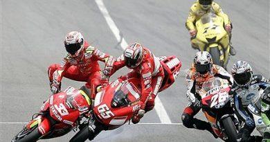 MotoGP: Final de semana com muitos acidentes em Barcelona