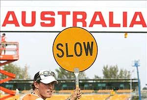 F1: Austrália pode perder corrida