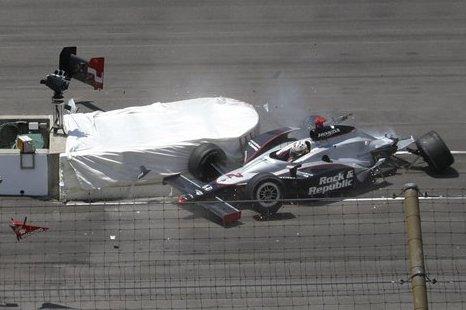 Indy 500: Scheckter bate forte