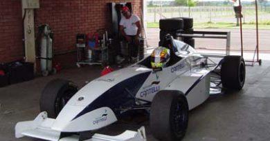 F Renault: Claudio Cantelli Jr ficou em terceiro no treino coletivo