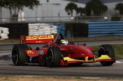 ChampCar: Bourdais lidera testes em Sebring