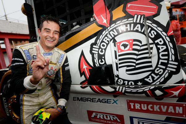 Copa Truck: Roberval Andrade voa na chuva e faz a pole em Guaporé