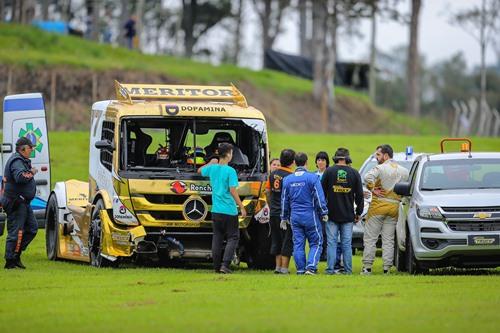 Copa Truck: Giaffone lidera treino encerrado antecipadamente