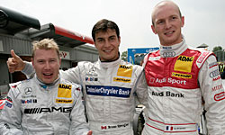 DTM: Mika Hakkinen sai na pole em Brands Hatch