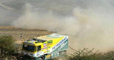 Rali-Dakar: Stacey vence outra entre os caminhões