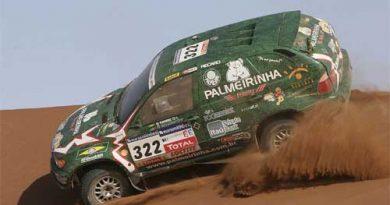 Rali-Dakar: Palmeirinha diz ter maneirado pois não confia na revisão que fez no carro