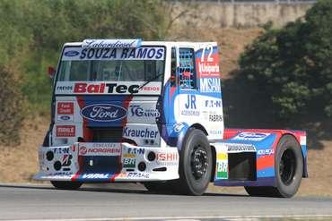 Truck: Equipe de Djalma Fogaça terá três caminhões Ford neste ano