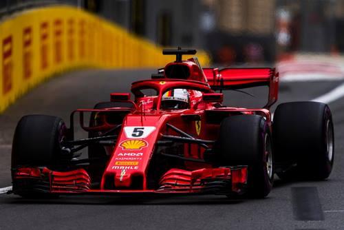 F1: Sebastian Vettel marca a pole-position para o GP do Azerbaijão