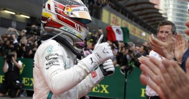 F1: Lewis Hamilton vence o movimentado GP do Azerbaijão