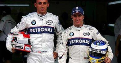 F1: BMW Sauber confirma Heidfeld e Kubica para 2007