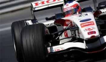F1: Barrichello, na chuva, é o mais rápido em Jerez