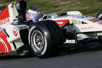 F1: Button é o mais veloz no penúltimo dia de testes em Barcelona