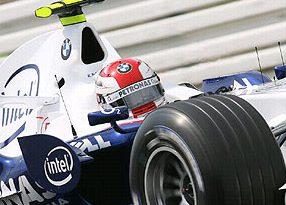 F1: Kubica é o mais rápido do dia