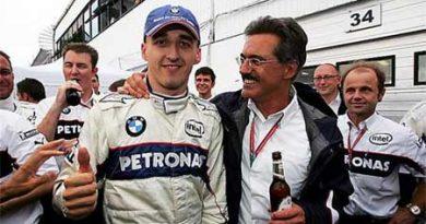 F1: Kubica é desclassificado da prova
