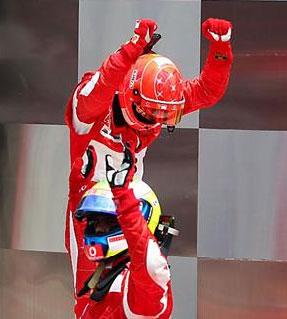F1: Ferrari faz a dobradinha nos EUA