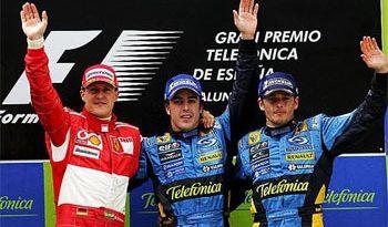 F1: Alonso vence com facilidade em casa