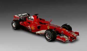 F1: Ferrari escolhe o novo nome do carro de 2006