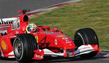 F1: Ferrari marca o melhor tempo nos testes do Bahrein