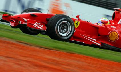 F1: Massa é o mais rápido no segundo treino livre