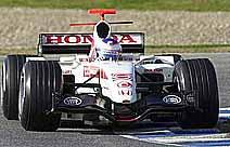 F1: Barrichello está empolgado com testes da Honda