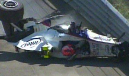 F1: Kubica bate violentamente