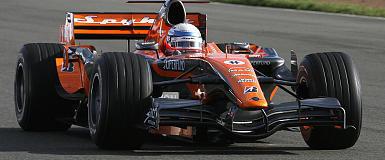 F1: Markus Winkelhock confirmado pela Spyker para o GP da Europa