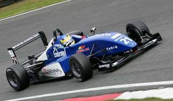 F3 Inglesa: Bruno Senna fecha testes em 2º