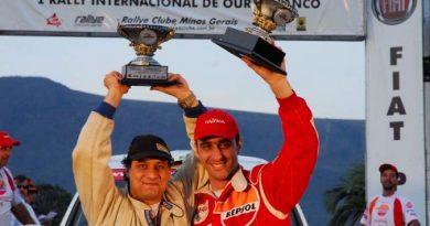 Rally: Fabiano Altomar e Marcelo Leitão, principal aposta para o pódio do Campeonato Mineiro de Rallye 2007