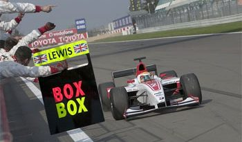 GP2 Series: Lewis Hamilton vence a primeira em Nürburgring