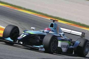 GP2 Series: Nelsinho Piquet se prepara para o GP da Espanha