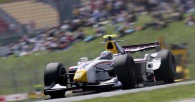 GP2 Series: Lucas Di Grassi larga em terceiro em Barcelona