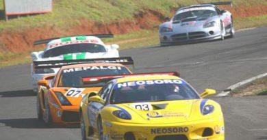 GT3 Brasil: Começa neste sábado programação de treinos na pista de Curitiba
