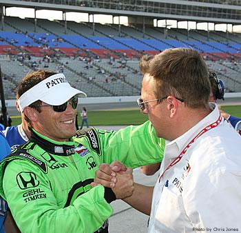 IRL: Scott Sharp larga na pole-postion no Texas