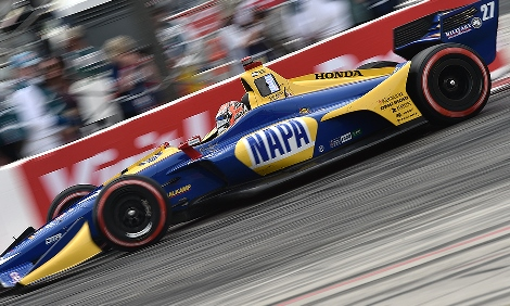 IndyCar: Alexander Rossi domina GP de Long Beach