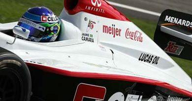 IRL: Câmara faz novos testes com a Andretti Green