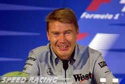 F1: Hakkinen aconselha Schumacher a parar