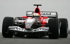 F1: Monteiro testa pela MF1