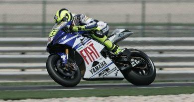 MotoGP: Rossi sai na pole no Catar