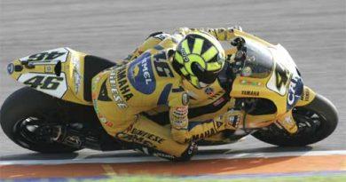 MotoGP: Valentino Rossi renova com a Yamaha até 2008