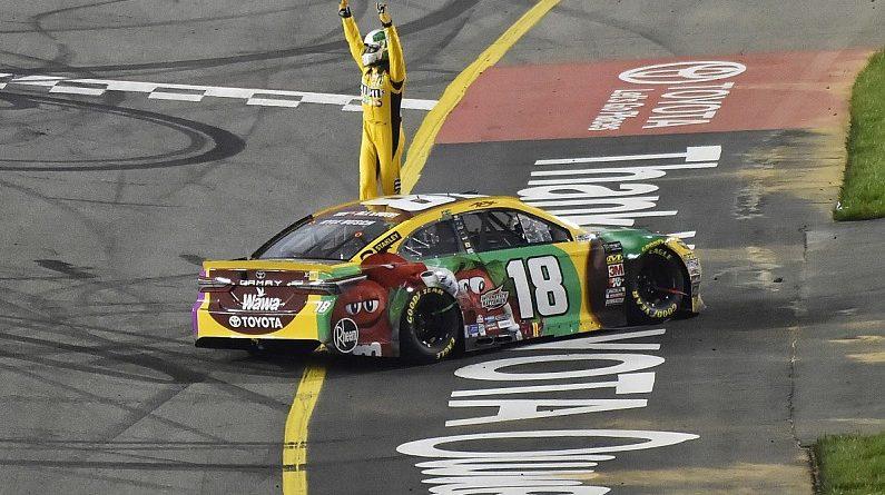 NASCAR Monster Energy Cup Series: Kyle Busch vence pela terceira vez consecutiva