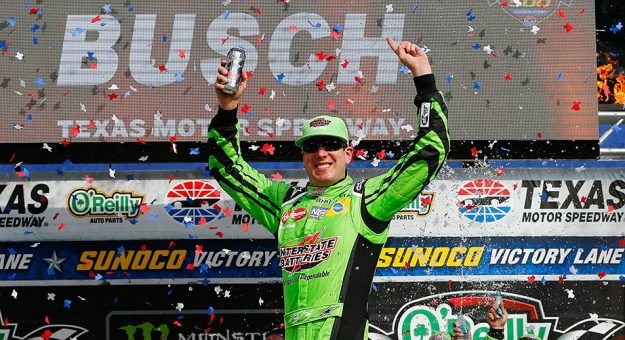 NASCAR Monster Energy Cup Series: Kyle Busch vence no Texas