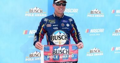 NASCAR Monster Energy Cup Series: Kevin Harvick marca a pole-position em Talladega