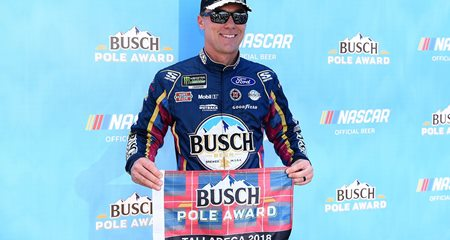 NASCAR Monster Energy Cup Series: Kevin Harvick marca a pole-position em Talladega
