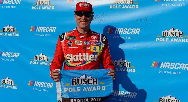 NASCAR Monter Energy Cup Series: Kyle Busch marca a pole-position em Bristol