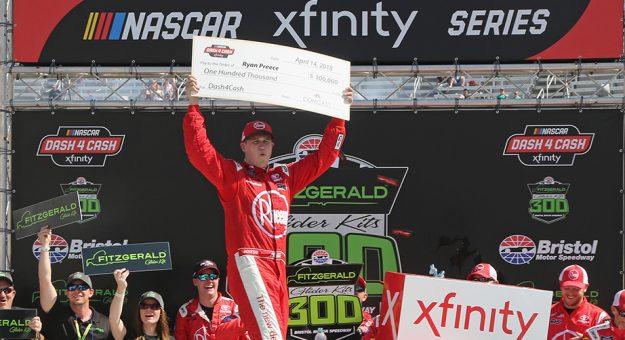 NASCAR XFINITY Series: Ryan Preece vence em Bristol
