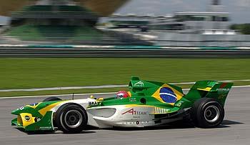 A1GP: Nelsinho Piquet disputa A1 GP na África do Sul