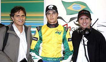 A1GP: Nelsinho Piquet confirmado para o início da temporada