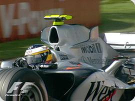 F1: Rubinho escapa de punição por atrapalhar De la Rosa
